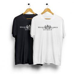 T-Shirt Mönchengladbach Lets kick it