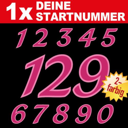 Rennsport Motorrad Auto Startnummern