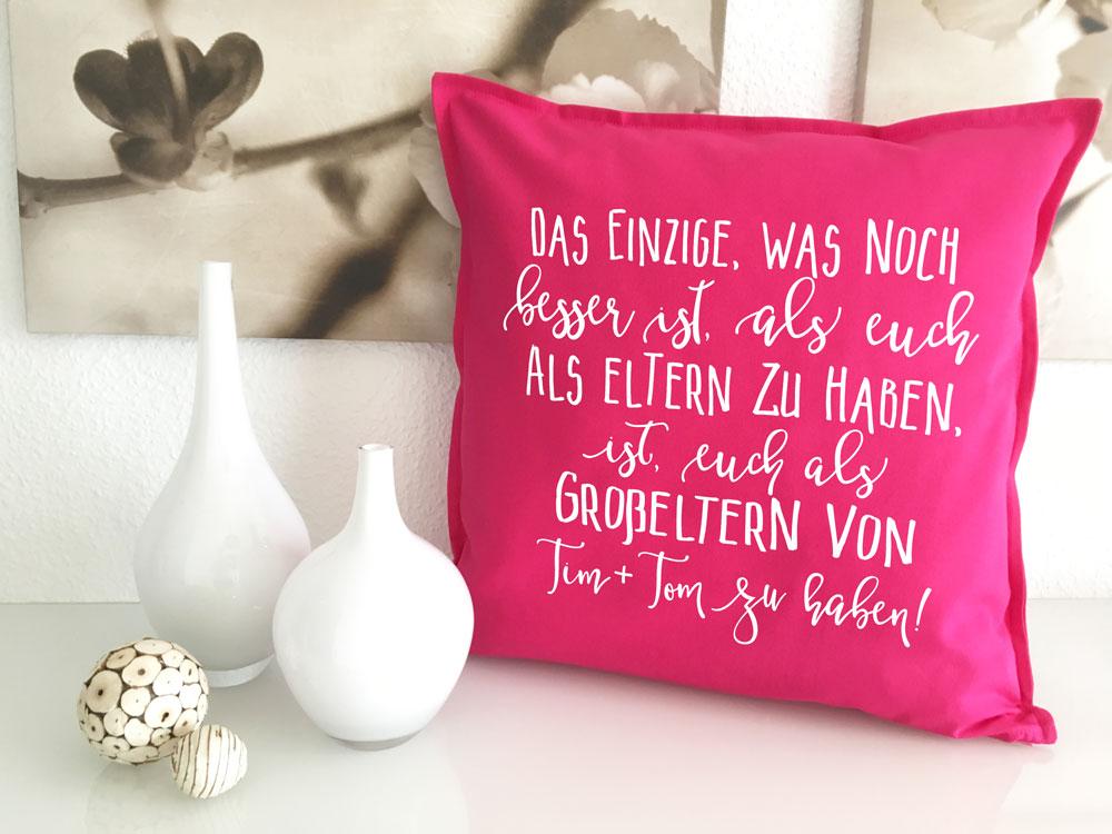 Spruche Kissen Grosseltern Geschenk Mit Namen Fur Omas Und Opas Sofa