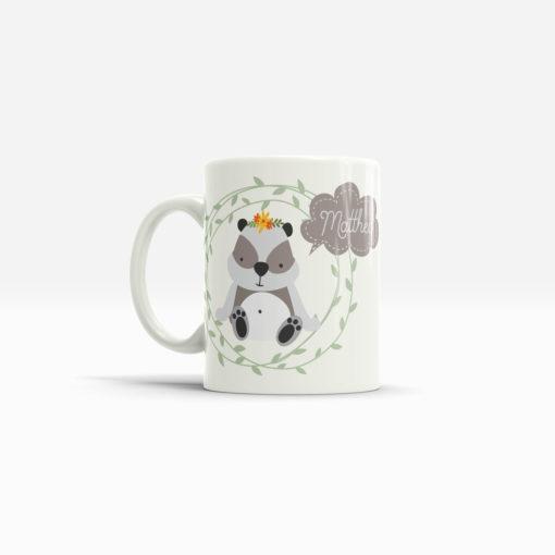 Panda Bär Tasse mit Namen