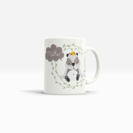 Panda Tasse rundum bedruckt