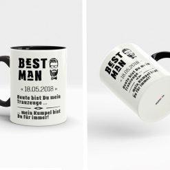 Personalisierte Best Man Geschenke für den Taruzeugen