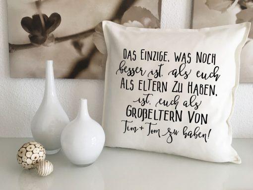 Personalisierte Großeltern Geschenke mit Namen