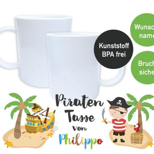 Tasse für kleine Piraten