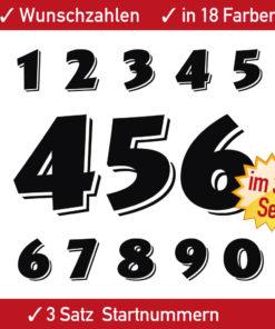Racing Motorrad Startnummern Aufkleber