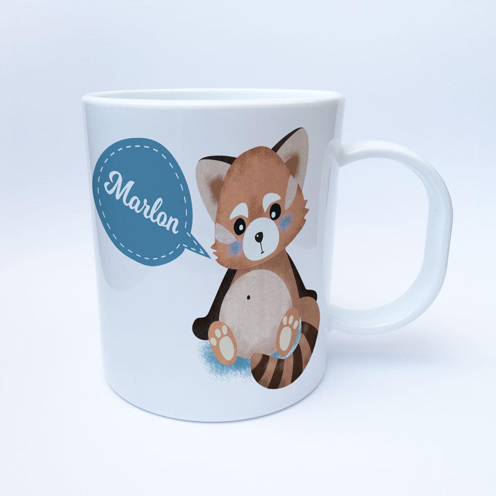 Kinder Tassen Geschenk Roter Panda