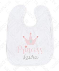 Sabberlätzchen Prinzessin mit Name
