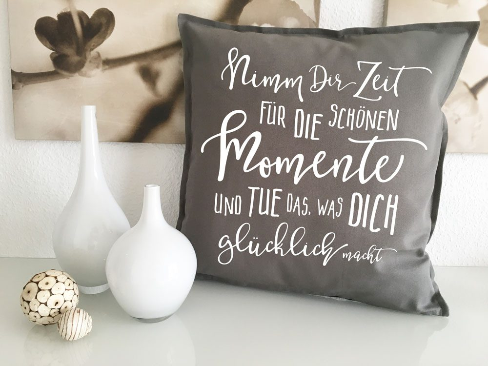 Bedruckte Deko Kissen Sofakissen 50x50 Mit Spruch Sofa Kuschelkissen