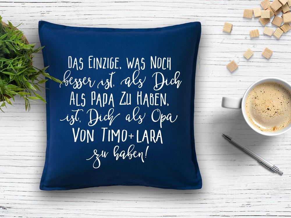 Sprüche Kissen Opa