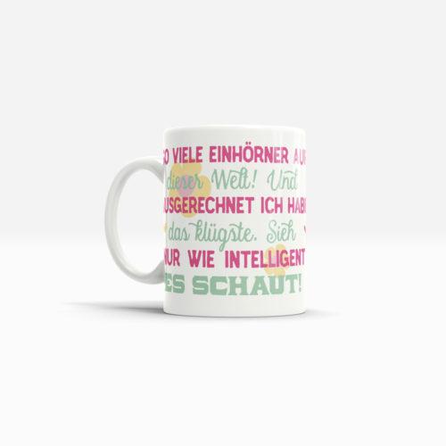 Sprüche Tassen Unicorn als Geschenk zum Geburtstag