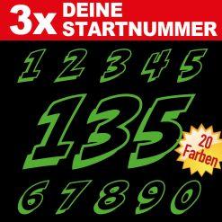 Racing Startnummer BMX Bike
