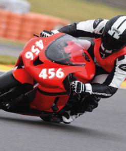 Motorrad Startnummer Verkleidung