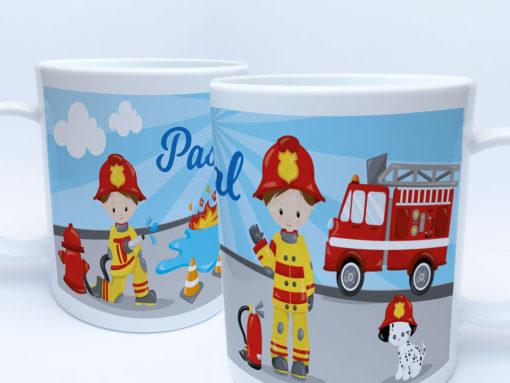 Feuerwehrmann Tasse als Geschenk