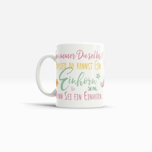 Tassen Geschenk mit Spruch