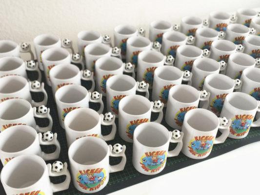 Tassen in großer Stückzahl drucken lassen