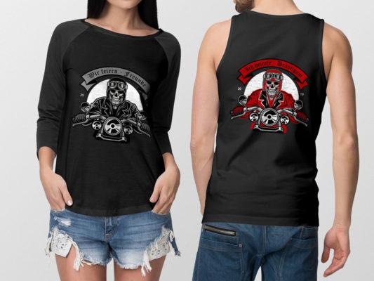 Motto T-Shirts online günstig kaufen