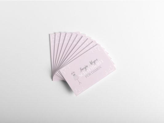 Visitenkarten für Frauen