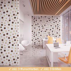Wand Klebepunkte für die Raumgestaltung