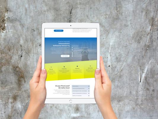Internetauftritt online kaufen und gestalten