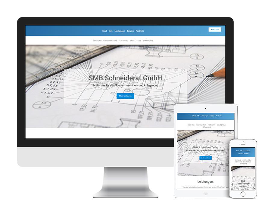 Maschinenbau Webseite kaufen