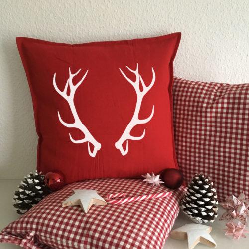 Dekorative weihnachtliche Kissenhüllen