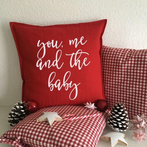 Das bedruckte Kissen - Weihnachtsgeschenke für Paare
