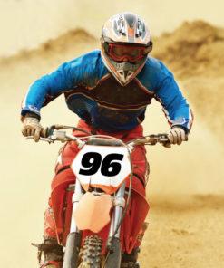 Wunsch Startnummer für Motocross